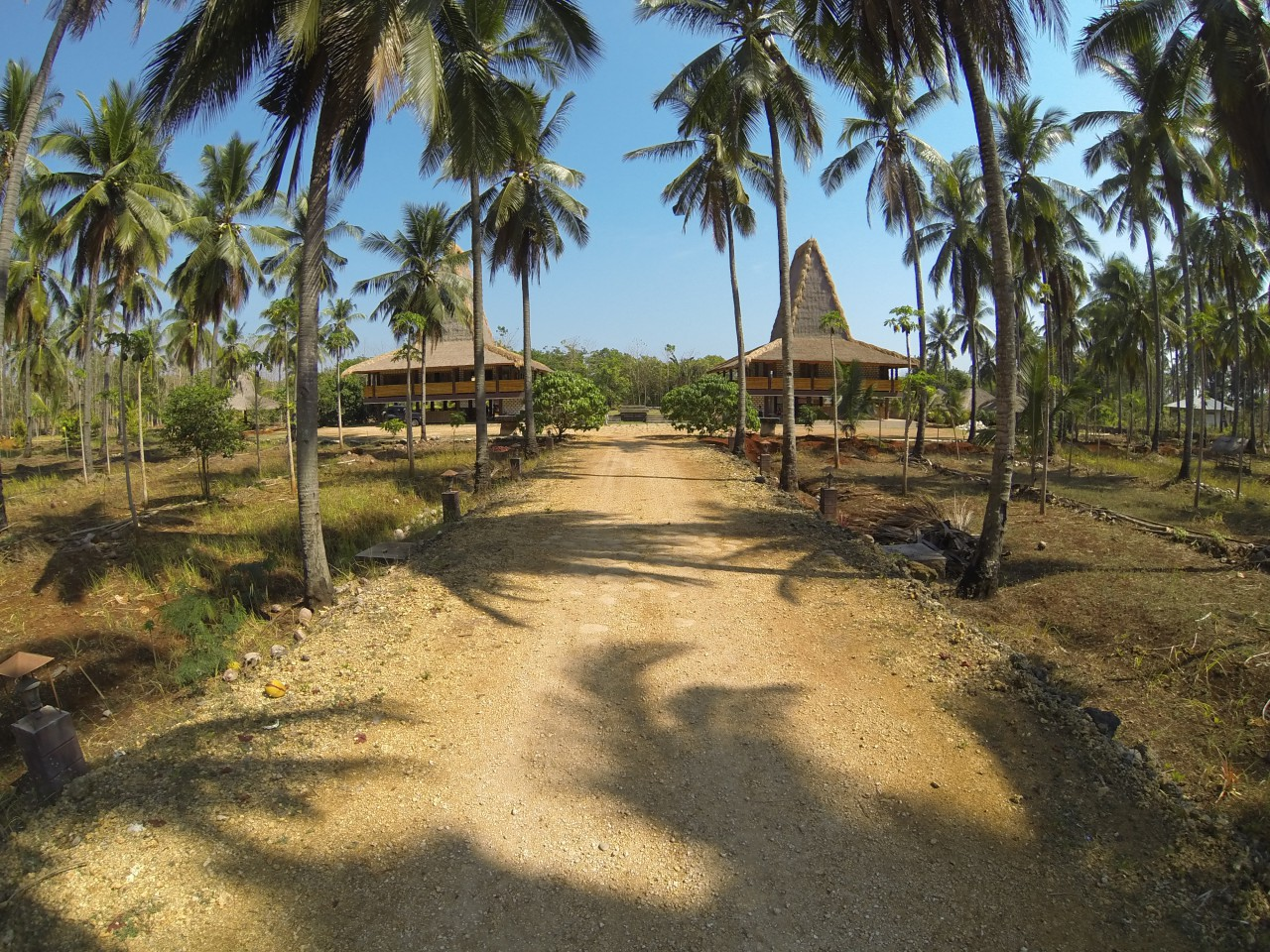 Pintu masuk Pusat Kebudayaan Sumba