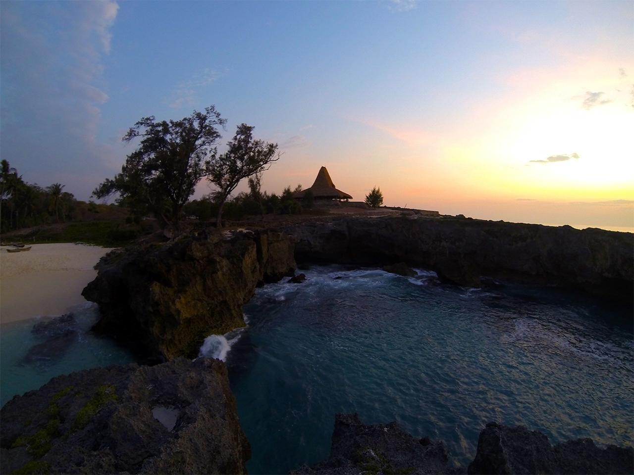 Sunset di Pantai Mandorak