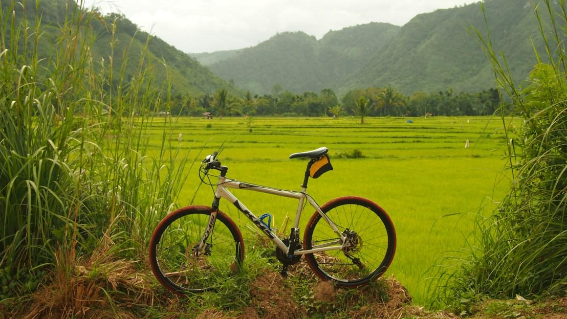 Pamer Sepeda di Harau